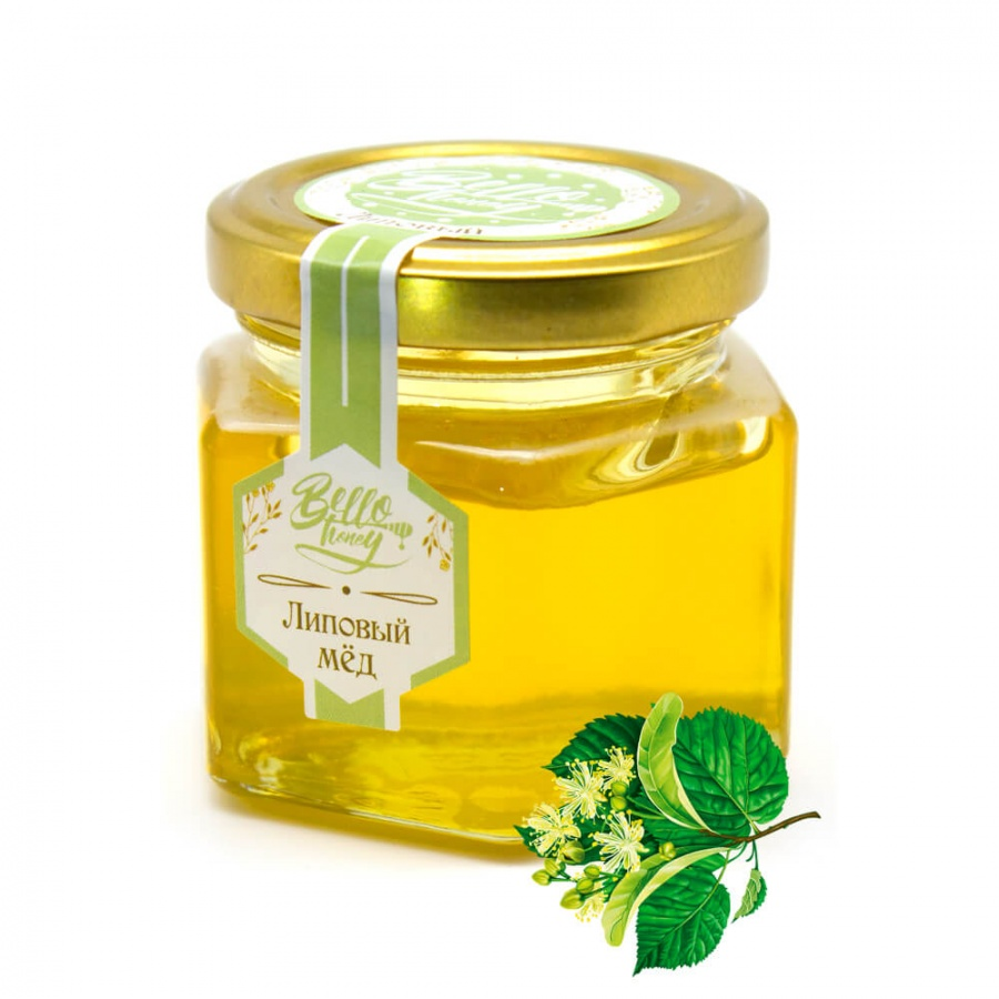 Мед липовый BelloHoney (120мл)