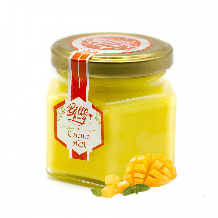 КРЕМ-МЁД С МАНГО BELLOHONEY (120МЛ)